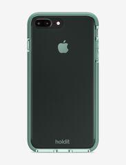 Holdit - Seethru Case iPhone 7/8 Plus - puhelimen kuoret - moss green - 2
