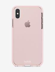 Seethru Case iPhone X/Xs - BLUSH PINK
