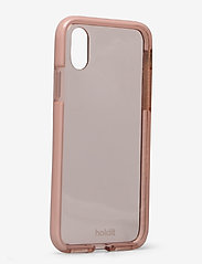 Holdit - Seethru Case iPhone X/Xs - puhelimen kuoret - blush pink - 2
