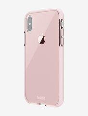 Holdit - Seethru Case iPhone X/Xs - puhelimen kuoret - blush pink - 3