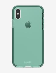 Seethru Case iPhone X/Xs - MOSS GREEN