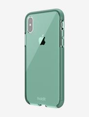 Holdit - Seethru Case iPhone X/Xs - puhelimen kuoret - moss green - 3