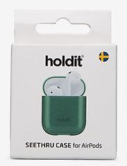 Seethru Case AirPods - SEETHRU MOSS GREEN