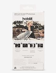Holdit - Temp glass iPhone 6/6s/7/8/SE - suojakalvot - 2.5d transparent - 1