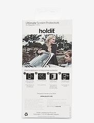 Holdit - Temp glass iPhone 6/6s/7/8Plus - suojakalvot - 2.5d transparent - 1