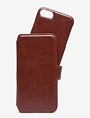 Holdit - Wallet Case Magnet iP 6/7/8/SE - puhelimen kuoret - berlin dark brown - 1