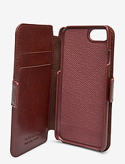 Holdit - Wallet Case Magnet iP 6/7/8/SE - puhelimen kuoret - berlin dark brown - 4