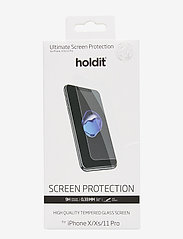 Holdit - Temp glass iPhone 11Pro/X/Xs - suojakalvot - 2.5d transparent - 0