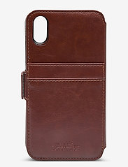 Holdit - Wallet Case Magnet iPhone X/Xs - puhelimen kuoret - berlin dark brown - 2