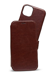 Wallet Case Mag iPhone 11/XR - BERLIN DARK BROWN