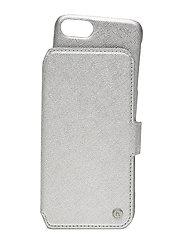 Wallet Case Magnet iP 6/7/8/SE - STOCKHOLM SILVER
