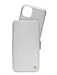 Wallet Case Mag iPhone 11/XR - STOCKHOLM SILVER