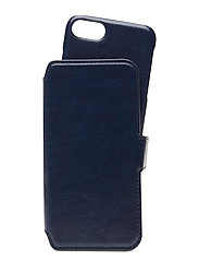 Wallet Case Magnet iP 6/7/8/SE - BERLIN NAVY BLUE