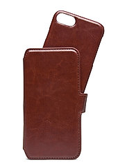 Wallet Case Magnet iP 6/7/8/SE - BERLIN DARK BROWN