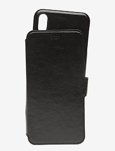 Wallet Case Mag iPhone Xs Max - phone cases - berlin black
