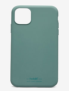 Silicone Case iPhone 11 - phone cases - moss green