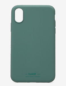 Silicone Case iPhone X/Xs - phone cases - moss green