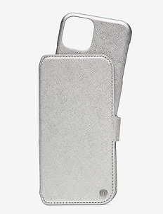Wallet Case Magnet iPh 11 Pro - phone cases - stockholm silver