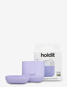 Silicone Case AirPods - airpods-hoesjes - lavender