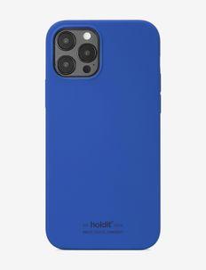 Silicone Case iPhone 12/12Pro - puhelimen kuoret - royal blue
