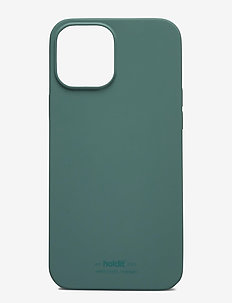 Silicone Case iPhone 12Pro Max - puhelimen kuoret - moss green