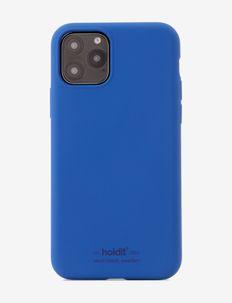 Silicone Case iPhone 11 Pro - mobilskal - royal blue