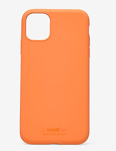 Silicone Case iPhone 11 - mobilskal - orange