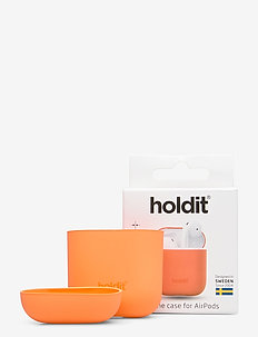 Silicone Case AirPods - airpods-skal - orange