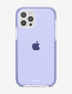 Seethru Case iPhone 12/12Pro - puhelimen kuoret - lavender