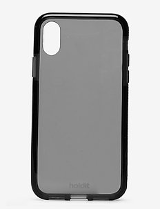 Seethru Case iPhone X/Xs - puhelimen kuoret - black