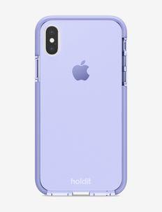 Seethru Case iPhone X/Xs - mobilskal - lavender