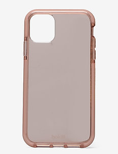 Seethru Case iPhone 11/XR - puhelimen kuoret - blush pink