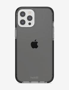 Seethru Case iPhone 12 Pro Max - phone cases - black