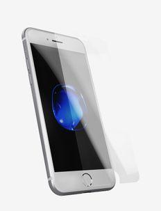 Temp glass iPhone 6/6s/7/8Plus - suojakalvot - 2.5d transparent