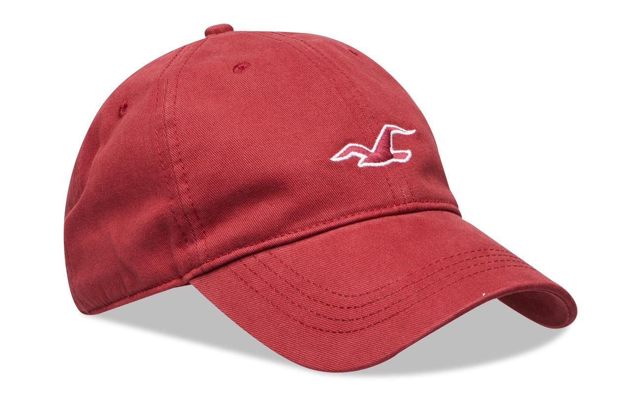 Hollister Hat - BURGUNDY DD