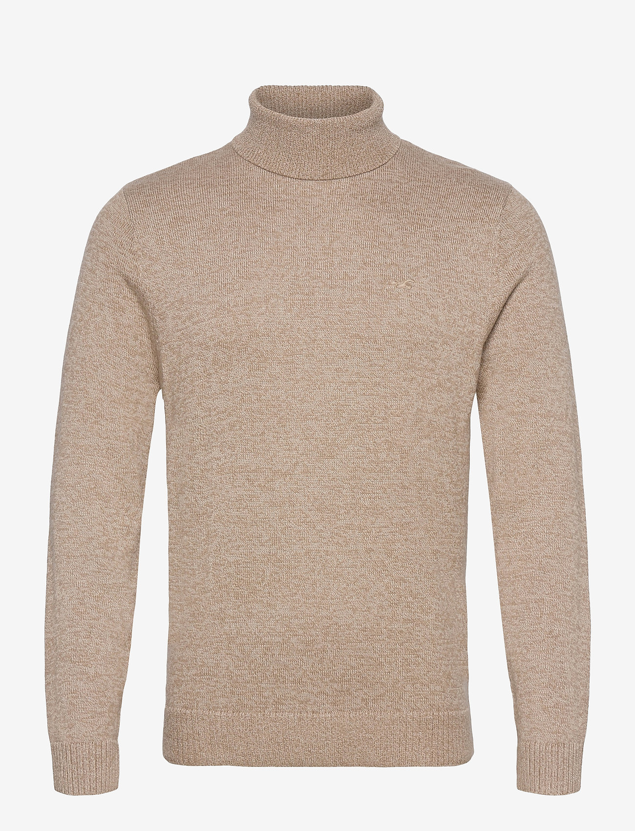 Hollister - HCo. GUYS SWEATERS - tricots basiques - light brown sd/texture - 0