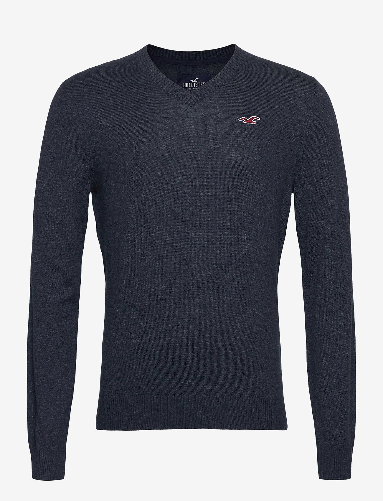 Hollister - HCo. GUYS SWEATERS - tricots basiques - navy sd/texture - 0