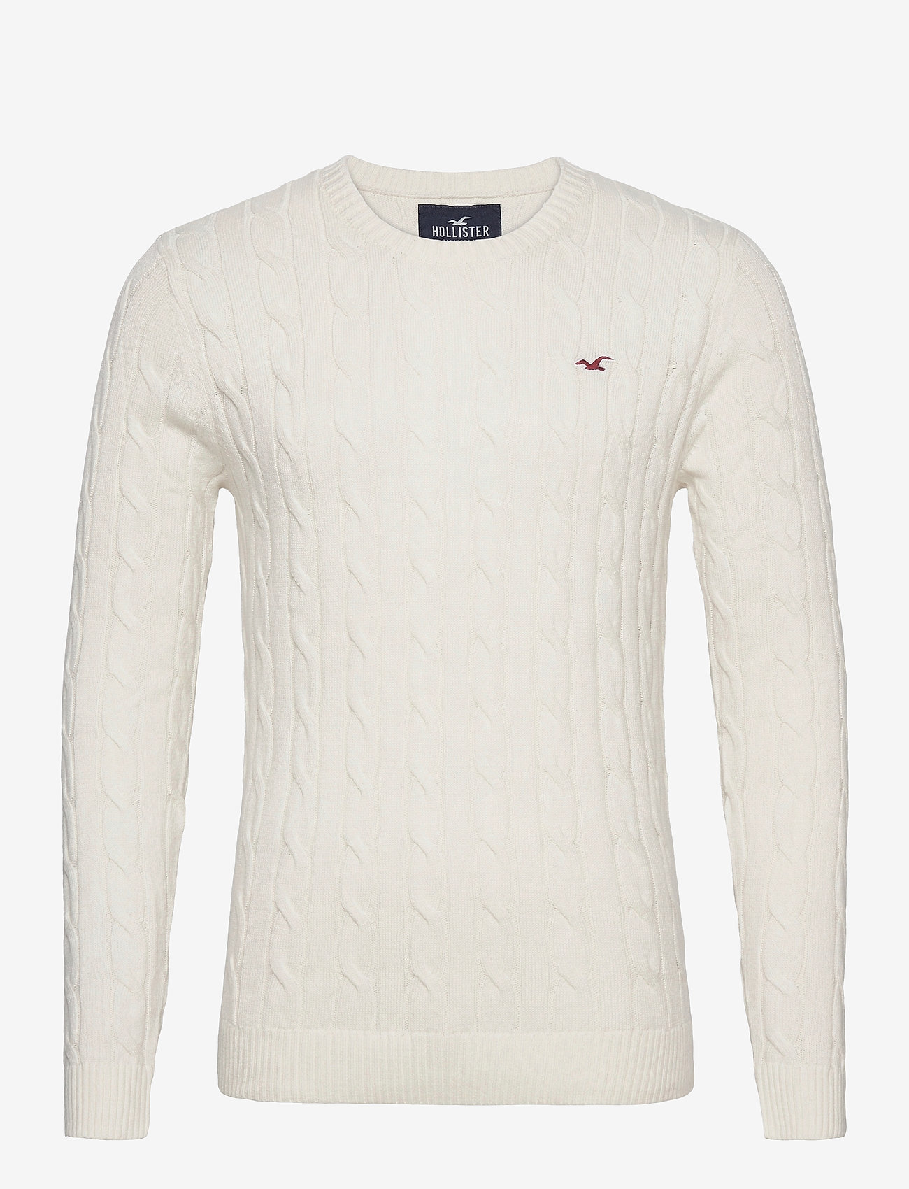 Hollister - HCo. GUYS SWEATERS - tricots basiques - cream - 0