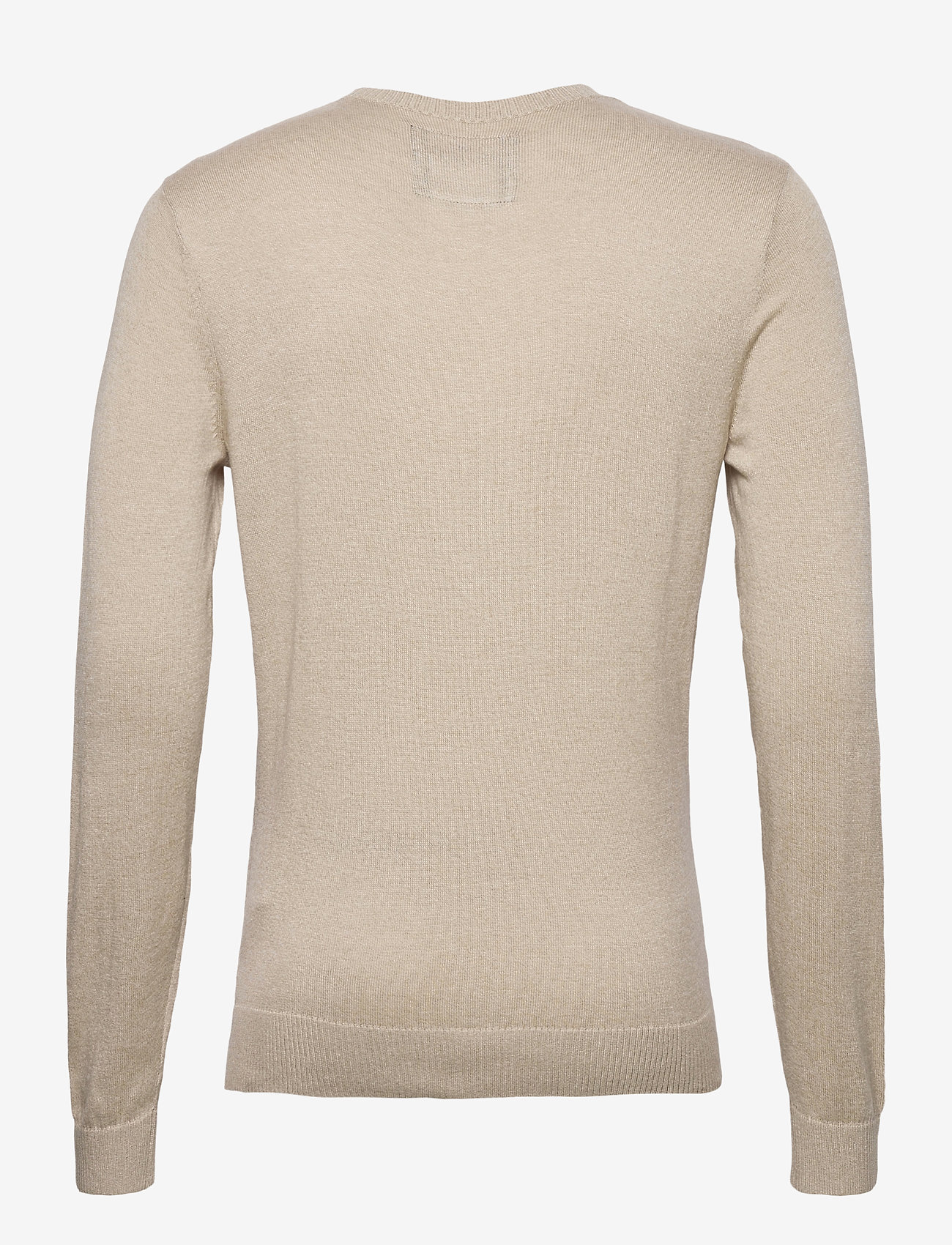 Hollister - HCo. GUYS SWEATERS - tricots basiques - light brown sd/texture - 1