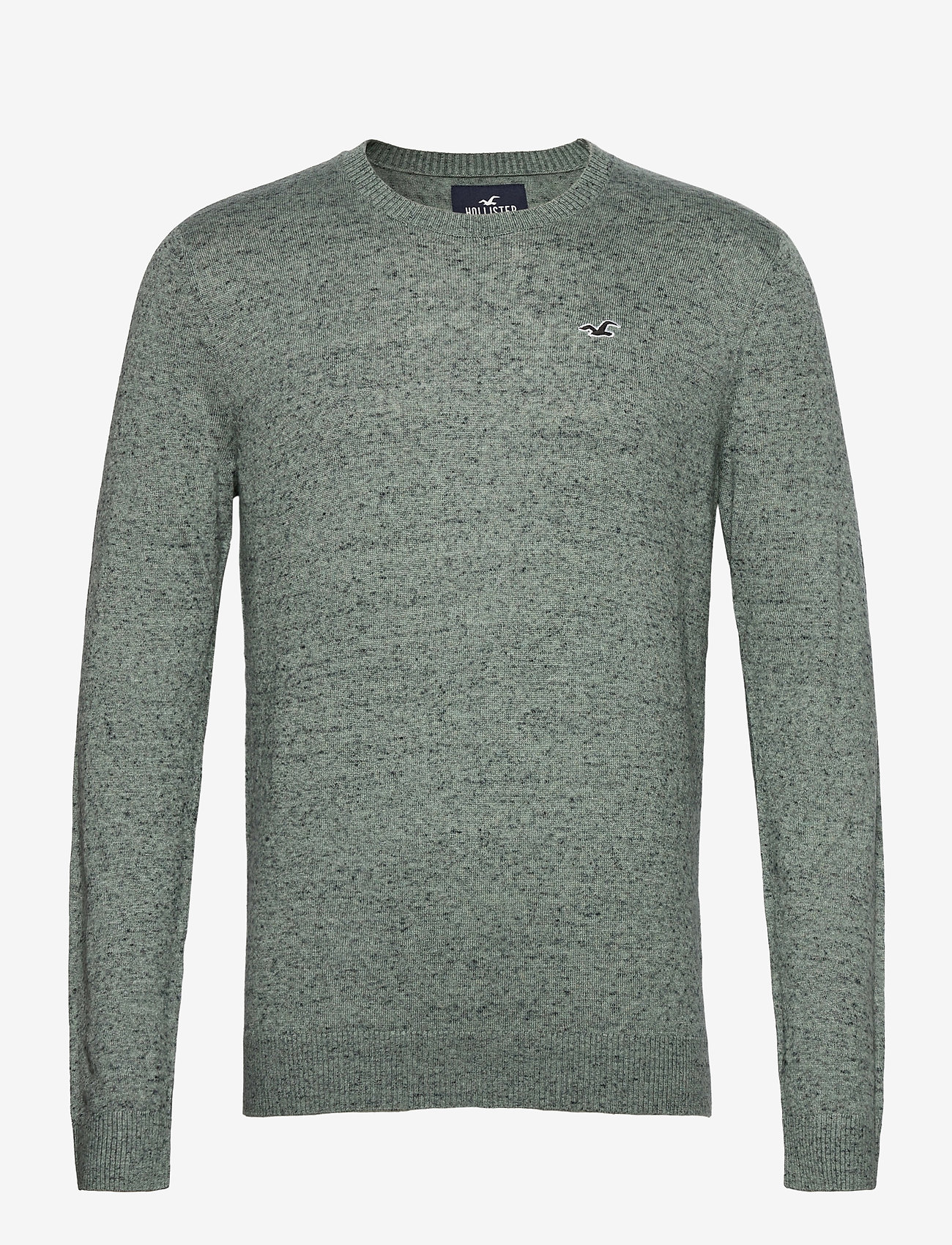 Hollister - HCo. GUYS SWEATERS - tricots basiques - green sd/texture - 0
