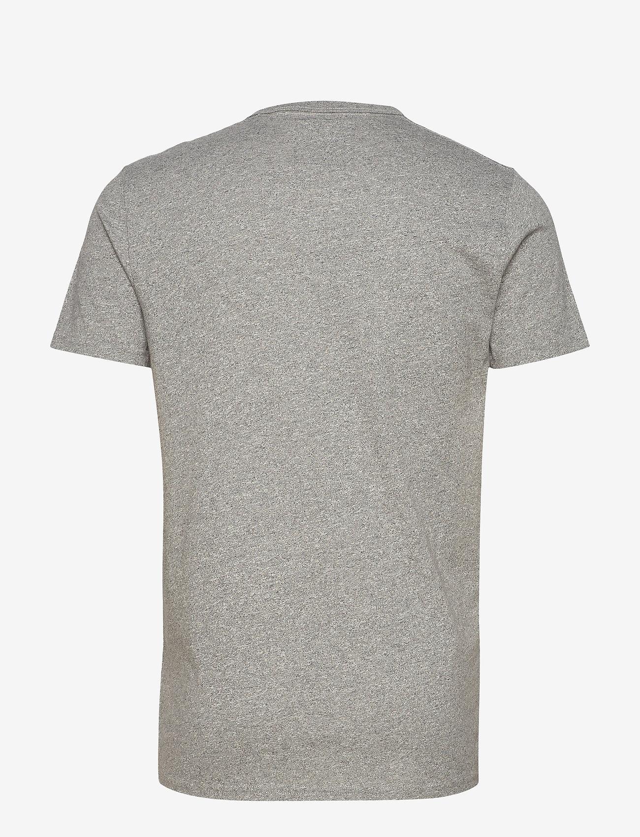 Hollister Core Tech - T-skjorter MED GREY SD/TEXTURE - Menn Klær