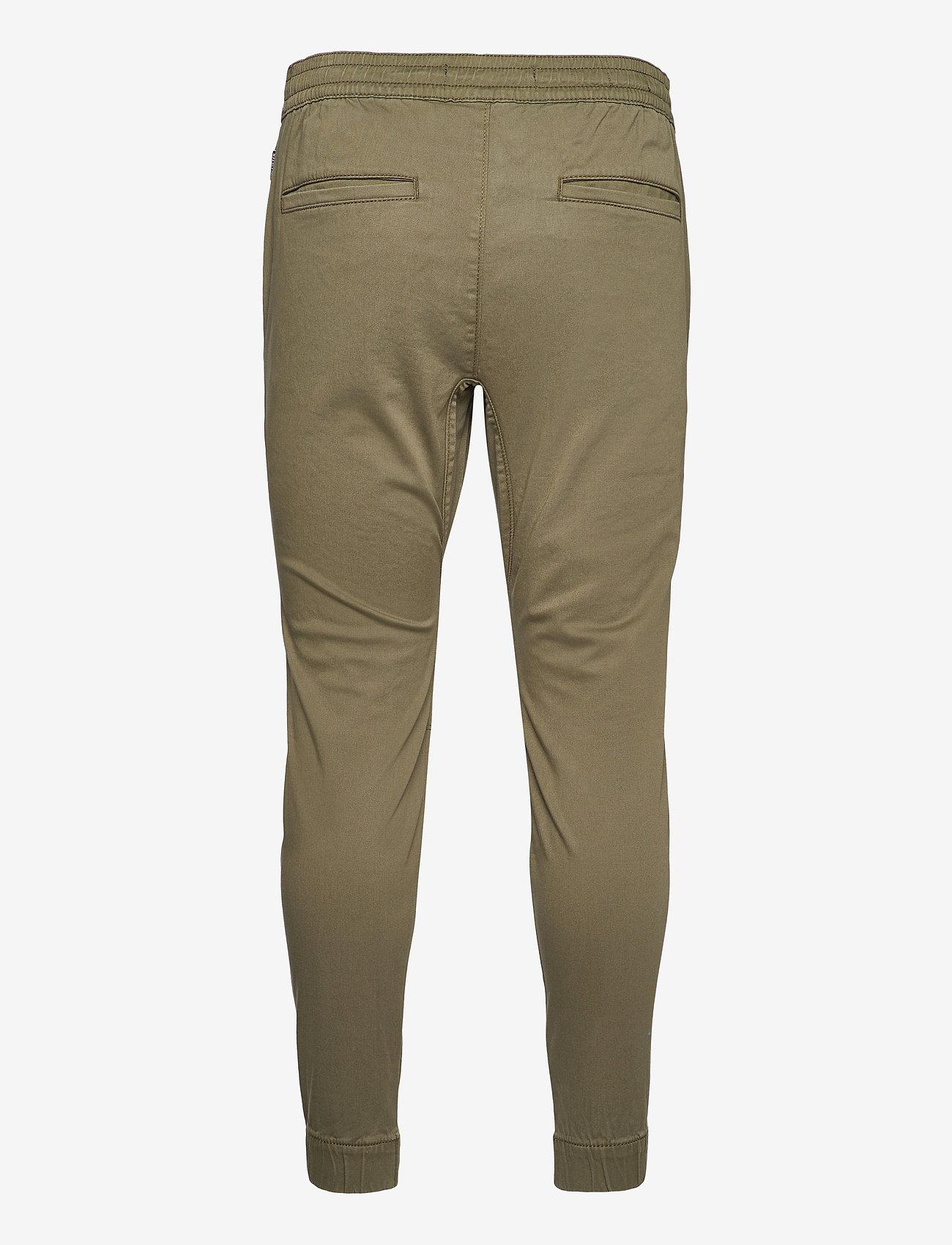 Hollister - HCo. GUYS PANTS - bottoms - olive skinny jogger - 1