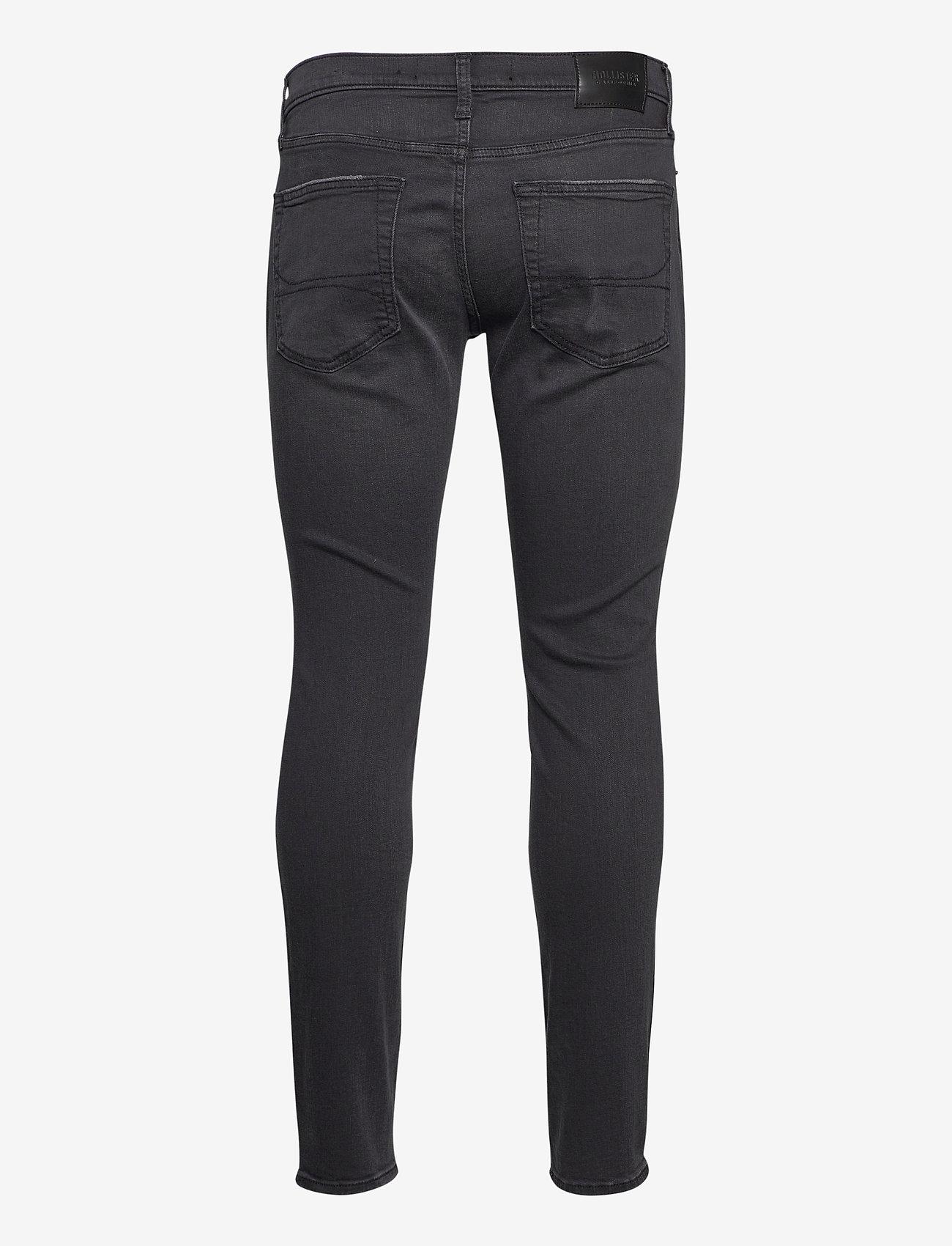 Hollister HCo. GUYS JEANS - Jeans WASHED BLACK DESTROY - Menn Klær