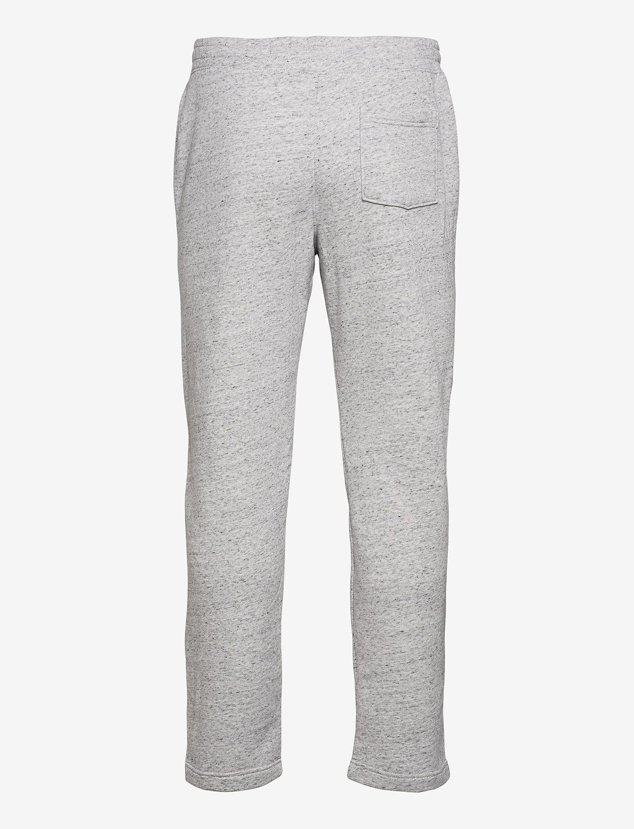Hollister Straight Leg Sweatpants - Joggebukser LIGHT GREY SD/TEXTURE - Menn Klær