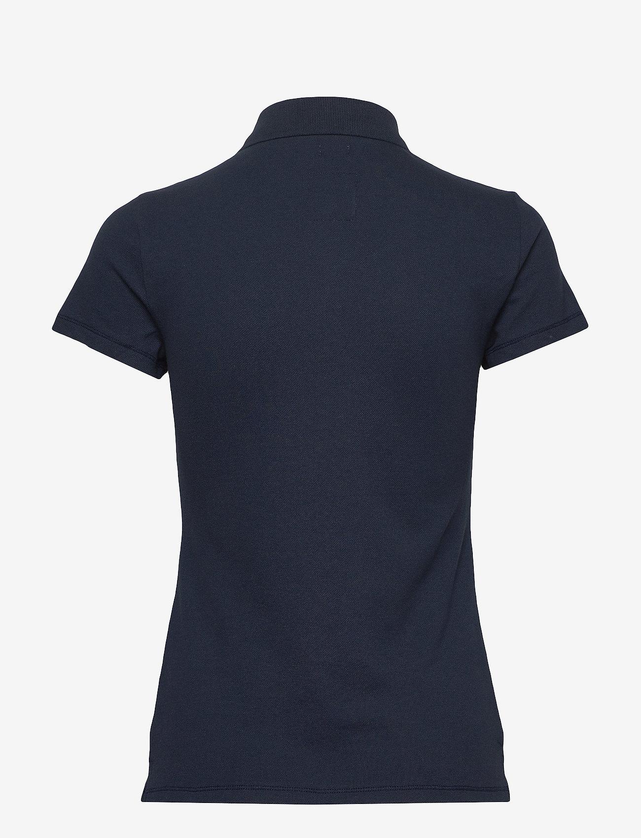 Hollister - Core Polo - basic t-shirts - navy dd - 1