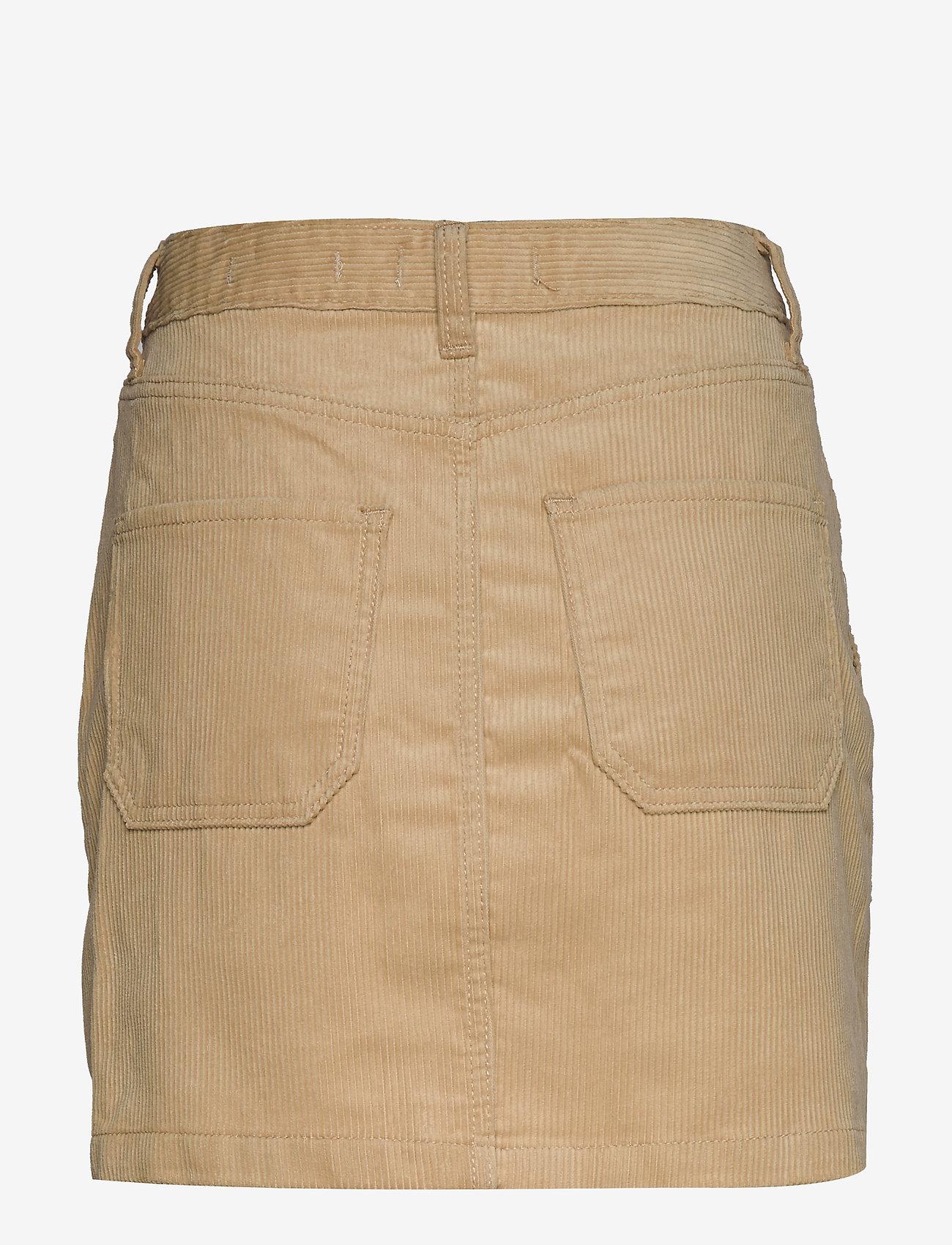 Hollister Cptr Pkt Set - Kjolar Light Brown Dd