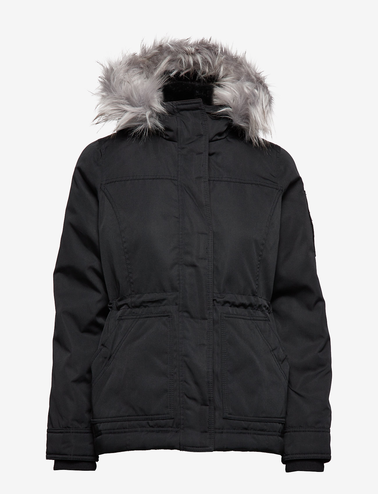 Hollister - Weather True Anorak - parki - black dd - 1