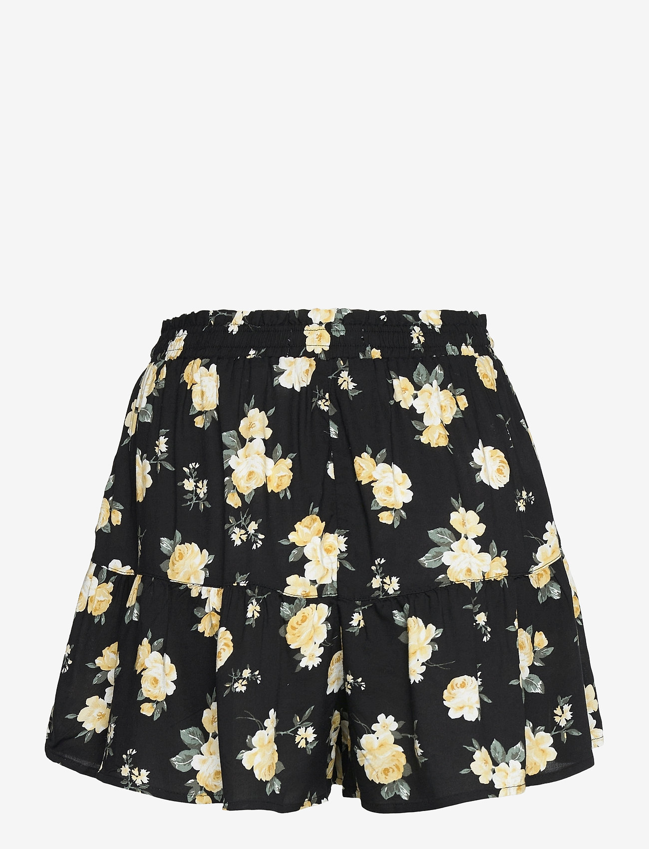 Hollister - HCo. GIRLS SHORTS - shorts casual - black floral - 1