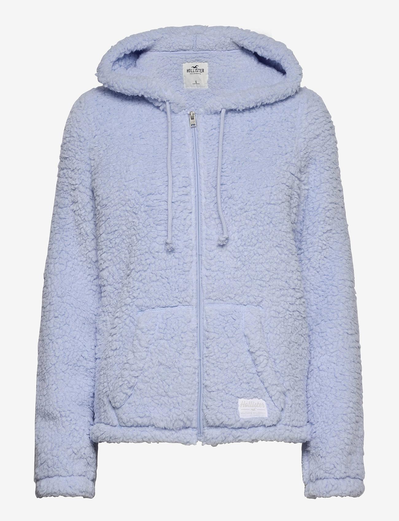 Hollister - HCo. GIRLS SWEATSHIRTS - fleece jassen - light blue - 0