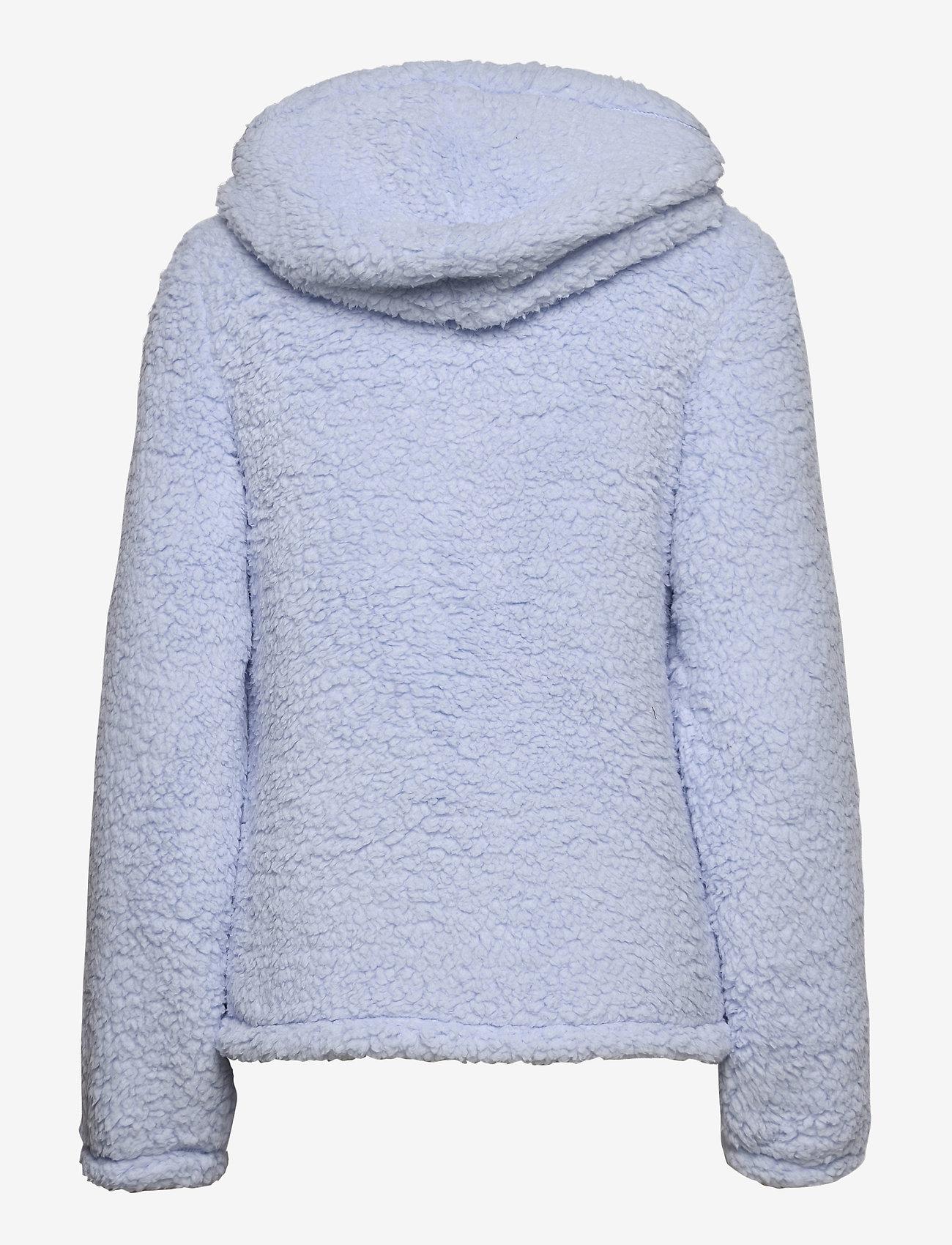 Hollister - HCo. GIRLS SWEATSHIRTS - fleece jassen - light blue - 1